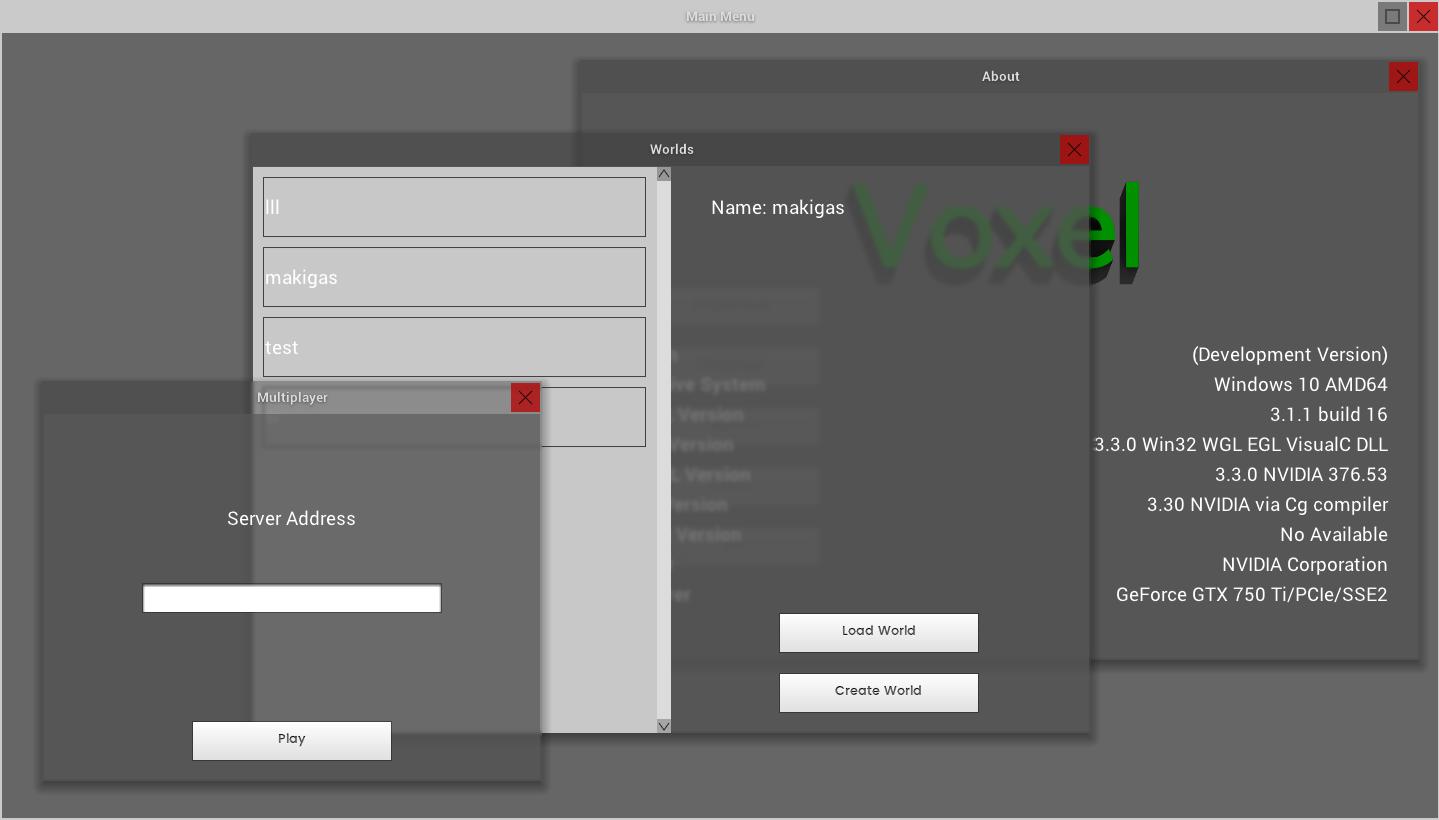 Voxel UI